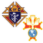 Knights of Columbus and Fourth Degree Emblems